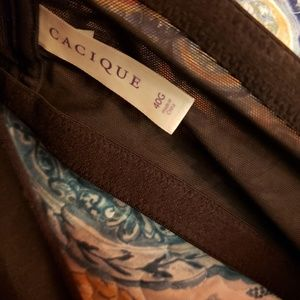 Cacique Intimates & Sleepwear - Racerback front closure bra